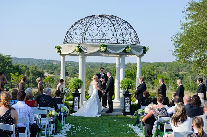 Gardens Of Cranesbury View Hill Country San Antonio Wedding Venue